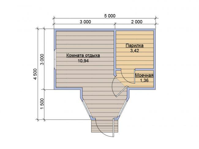 Баня КБ-26