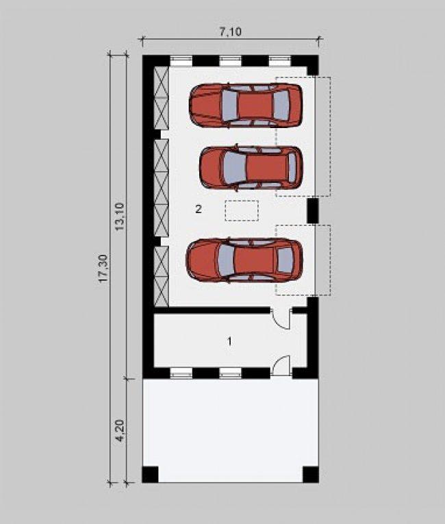 Гараж КГ-239