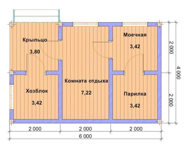 Баня КБ-64
