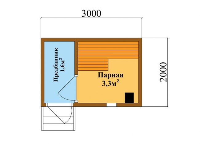 Баня КБ-2