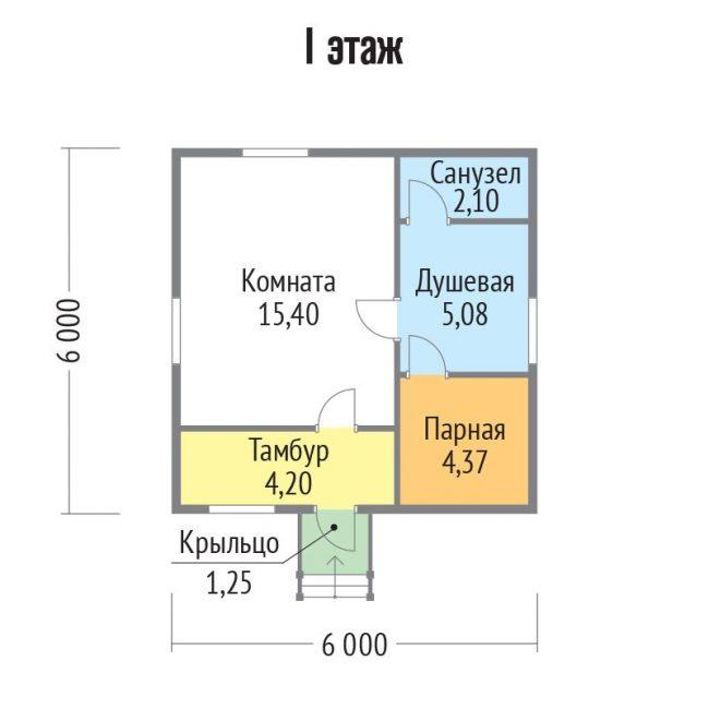 Баня КБ-116