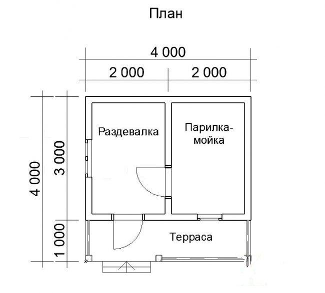 Баня КБ-48