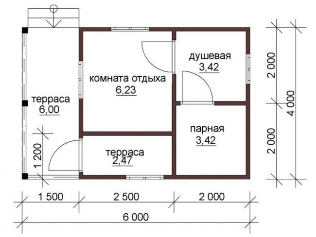 Баня КБ-67