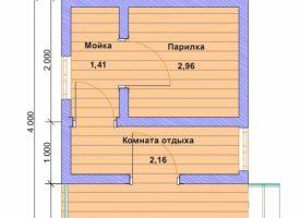 Баня КБ-19