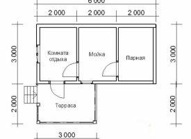 Баня КБ-38