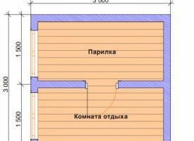 Баня КБ-15